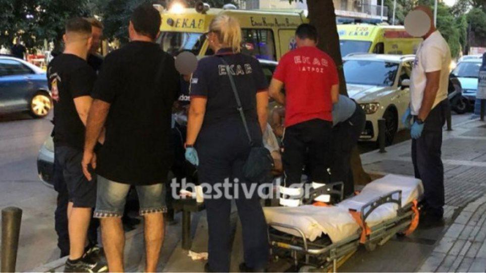 Θεσσαλονίκη: Αιματηρή συμπλοκή με σιδερολοστούς για τα μάτια μιας κοπέλας