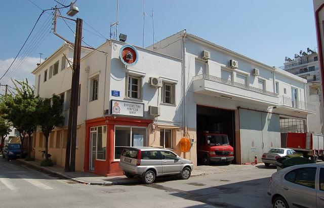 «Λίφτινγκ» στο κτίριο της Πυροσβεστικής Υπηρεσίας Βόλου