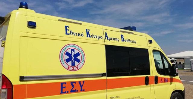 Νεκρός άνδρας στα Γιάννενα που έπεσε από την ταράτσα πολυκατοικίας