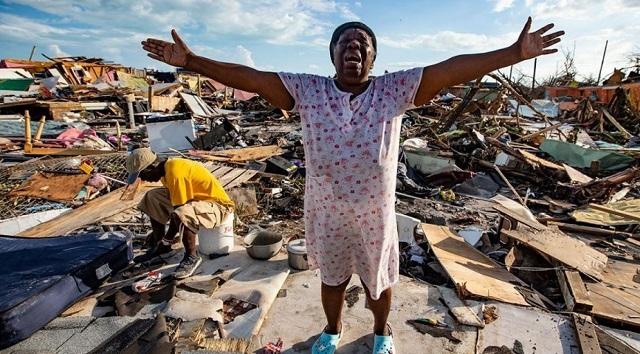 Τυφώνας Ντόριαν: 50 οι νεκροί και εικόνες «αποκάλυψης» στις Μπαχάμες