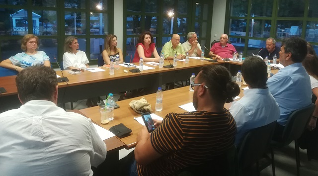 Πρώτη συνεδρίαση του δημοτικού συμβουλίου Σκοπέλου