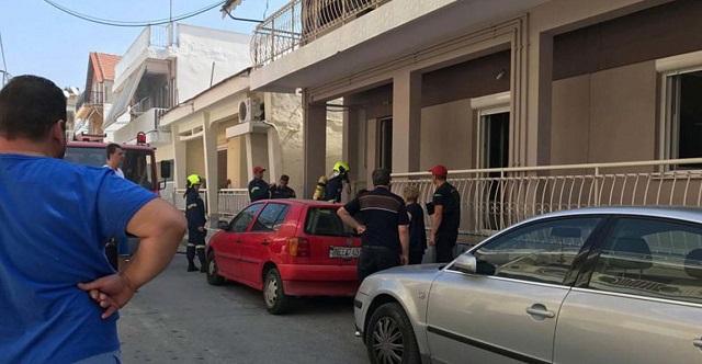 Έκρηξη σε σπίτι στη Λάρισα από χύτρα ταχύτητας