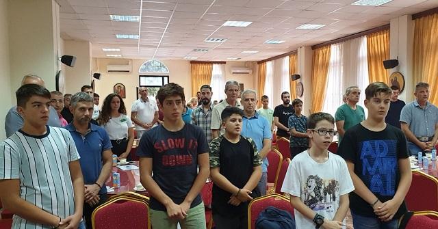 Ανεπίσημος Αγιασμός στην Σχολή Βυζαντινής Μουσικής