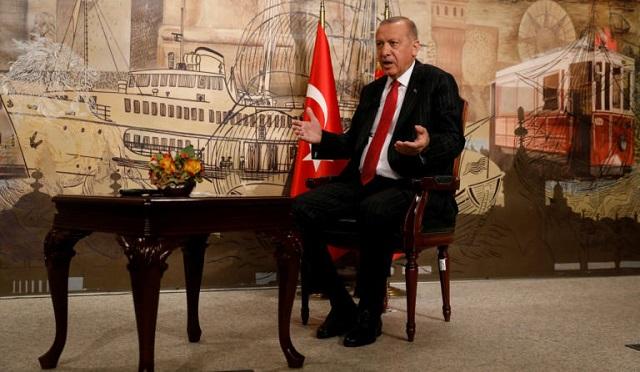 Ερντογάν: Aνά πάσα στιγμή μπορεί να γίνει οτιδήποτε στην Ανατολική Μεσόγειο