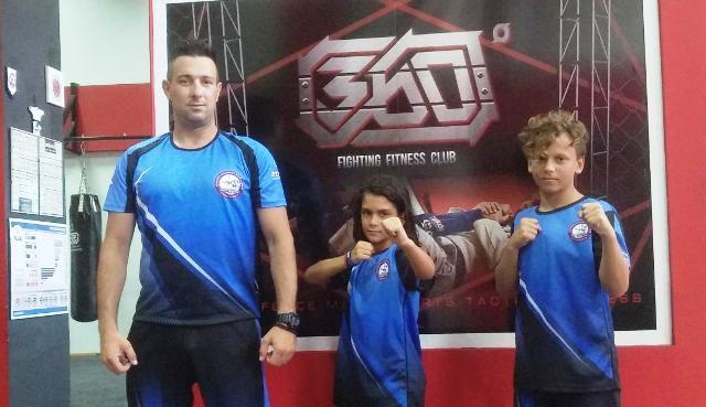 Αθλητές του Μ.Γ.Σ. «360ο» σε διεθνείς αγώνες