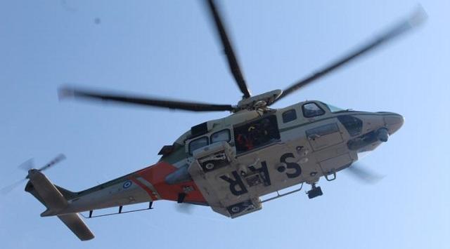 Όλυμπος: Ελικόπτερο Super Puma παρέλαβε τραυματισμένο ανήλικο ορειβάτη
