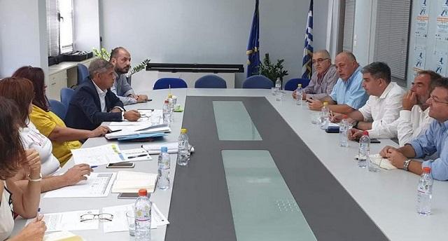 Συνεργασία Περιφέρειας –Δήμου Βόλου για τα μεγάλα έργα του Βόλου