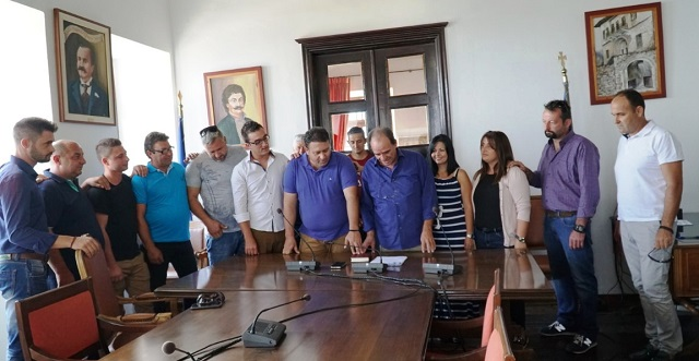Ανέλαβαν καθήκοντα 11 μόνιμοι υπάλληλοι στον Δήμο Ζαγοράς -Μουρεσίου