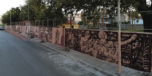 Μεγάλη εικαστική παρέμβαση της UrbanAct στην οδό Φερών
