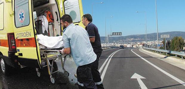 Βαρύς τραυματισμός δικυκλιστή σε τροχαίο στον Περιφερειακό