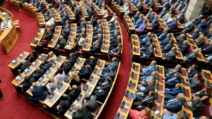 Ανακοινώνεται στην Ολομέλεια της Βουλής η διαβίβαση της δικογραφίας για τη Novartis