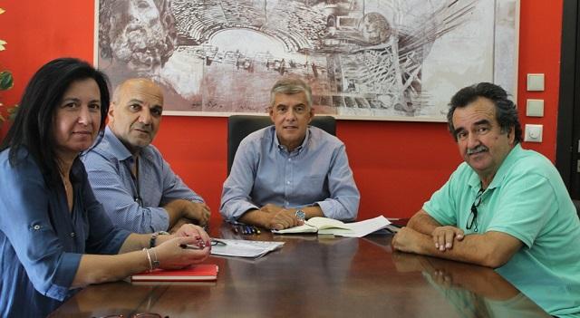 Συνεργασία Αγοραστού – Χατζηκυριάκου για τα έργα στο Δήμο Αλμυρού