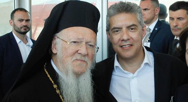 Στο Φανάρι ο Περιφερειάρχης Θεσσαλίας Κ. Αγοραστός