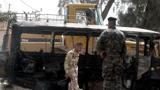 Ιράκ: Δώδεκα νεκροί από έκρηξη βόμβας μέσα σε λεωφορείο