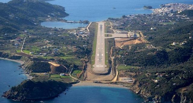 Αυξημένη αεροπορική κίνηση σε Ν. Αγχίαλο και Σκιάθο