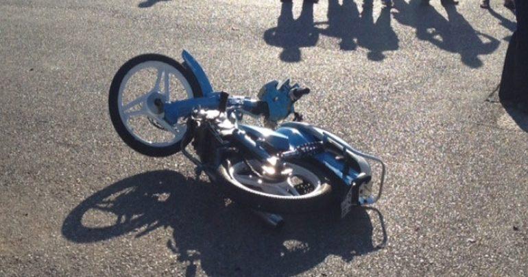 Σφοδρό τροχαίο στη Σκόπελο με τραυματισμό 24χρονου δικυκλιστή