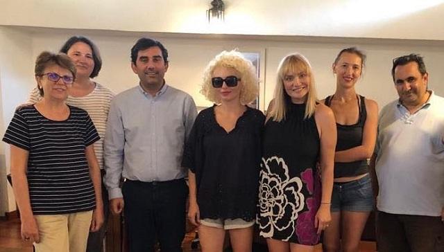 Ρουμάνοι δημοσιογράφοι επισκέφτηκαν στην Σκιάθο