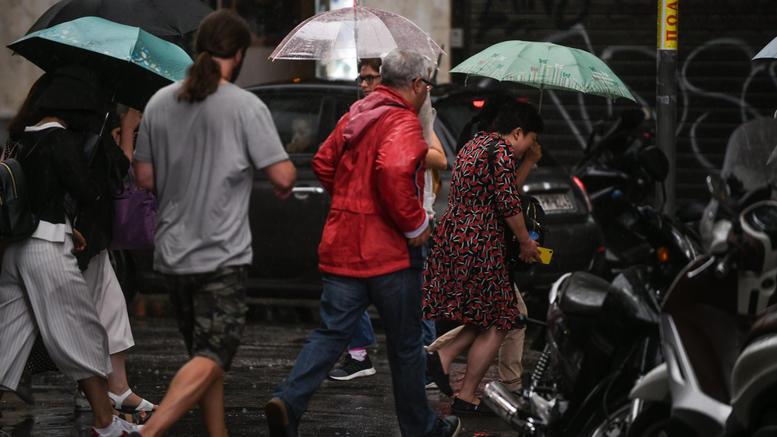 Χαλάει ο καιρός με ισχυρές βροχές, ακόμη και χαλαζοπτώσεις