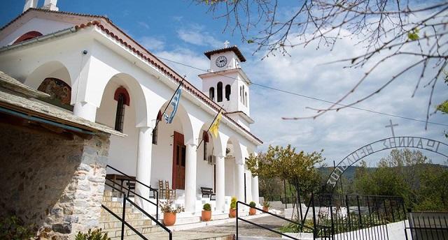 Πανηγυρίζει ο Ναός του Αγίου Ιωάννου του Θεολόγου Κορώπης