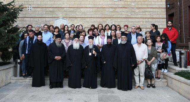 Επίσκεψη Ομίλου προσκυνητών στο Οικουμενικό Πατριαρχείο
