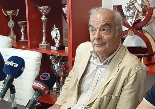 Ο Ευθύμιος Πολιτόπουλος πρόεδρος της ΠΑΕ Ολυμπιακός Βόλου