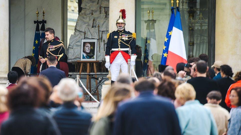 Ζακ Σιράκ: Σήμερα το λαϊκό προσκύνημα για τον εκλιπόντα
