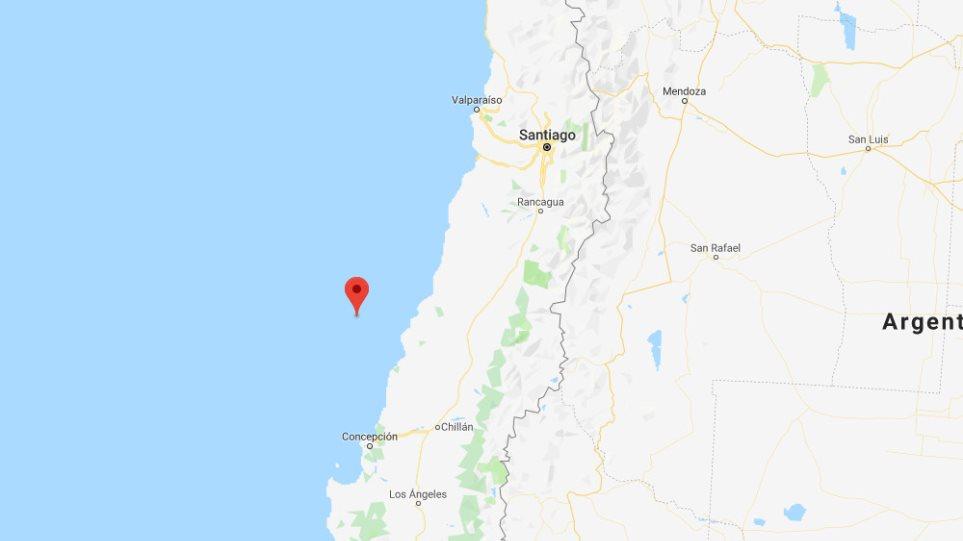 Ισχυρός σεισμός 7,2 Ρίχτερ στη Χιλή