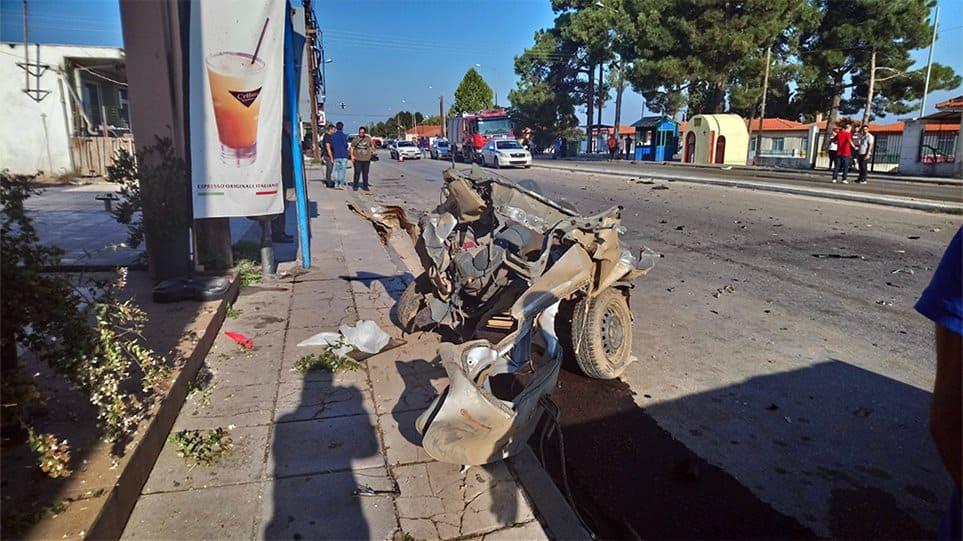 Φοβερό τροχαίο με ένα νεκρό στην παλαιά εθνική Θεσσαλονίκης- Καβάλας
