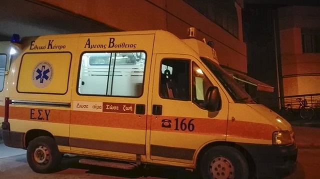 Στο Νοσοκομείο με τραύμα στο κεφάλι μεταφέρθηκε νεαρός από τη Ν. Ιωνία