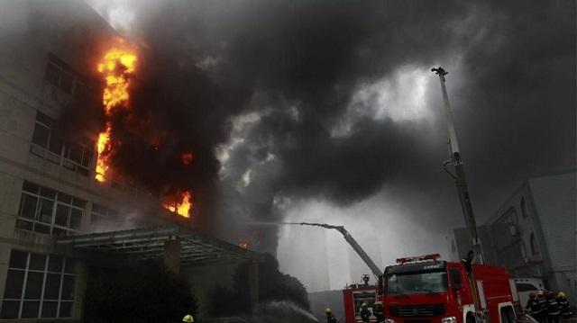 Τραγωδία στην Κίνα: 19 νεκροί από φωτιά σε εργοστάσιο