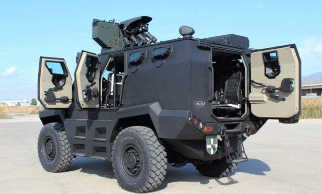 Ανάρπαστο το στρατιωτικό όχημα του Ερντογάν