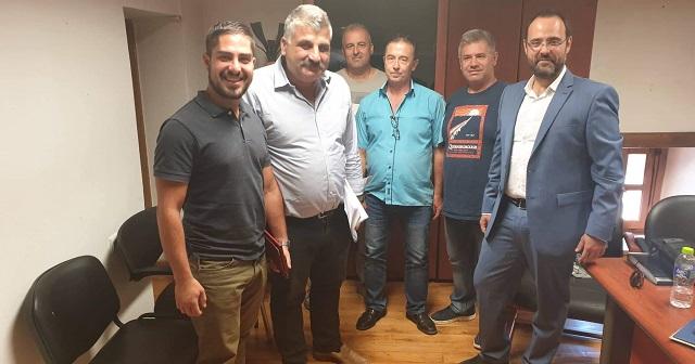 Συνάντηση Κ. Μαραβέγια με τον Δήμαρχο Ν. Πηλίου