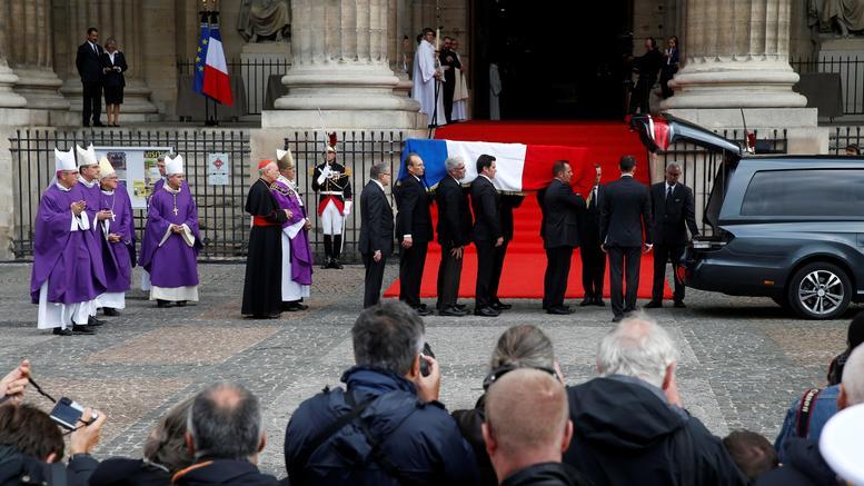 Ύστατος φόρος τιμής στον Ζακ Σιράκ παρουσία πολυάριθμων ξένων ηγετών