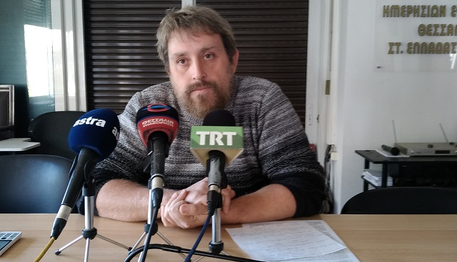 Συνέλευση της παράταξης «Αριστερή Παρέμβαση στη Θεσσαλία»