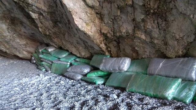 Οι ανακοινώσεις των Αρχών για τον ένα τόνο χασίς στην Αλόννησο