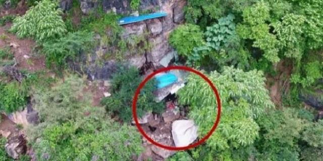Καταζητούμενος για 17 χρόνια εντοπίστηκε από drone μέσα σε σπηλιά