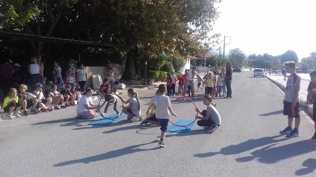Αθλητικές δραστηριότητες στο 1ο Δημοτικό Ανω Λεχωνίων