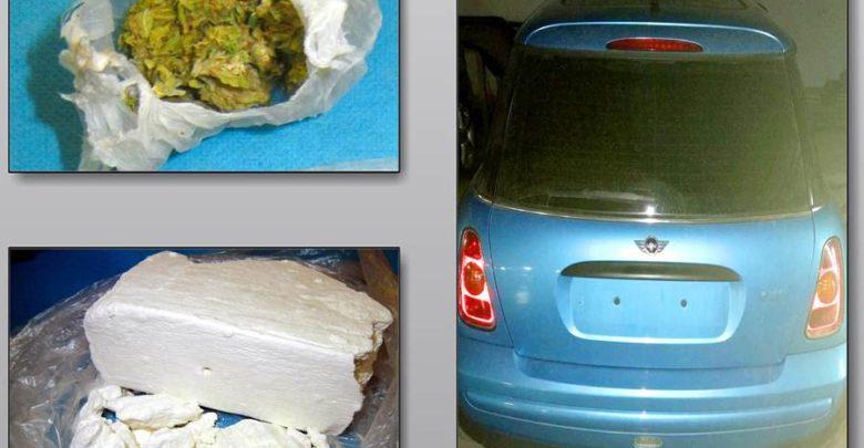 30χρονος Λαρισαίος έκρυβε 6 κιλά ηρωίνης και πιστόλια σε ειδική κρύπτη στο αυτοκίνητό του