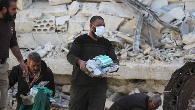 Βομβάρδισαν κέντρο υγείας στην Ιντλίμπ της Συρίας