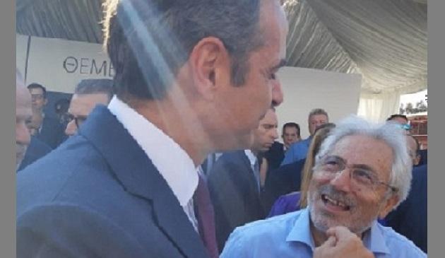 Στην εκδήλωση θεμελίωσης του νέου εργοστασίου της «Μυτιλιναίος» ο Ν. Ντίτορας