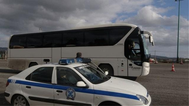 Τροχαίο με λεωφορείο που μετάφερε μαθητές στη Χαλκιδική