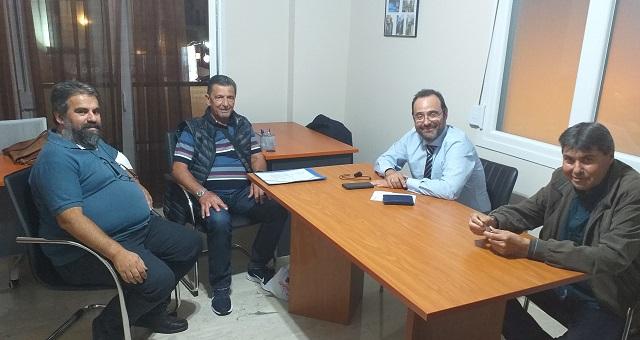 Συνάντηση του Κ. Μαραβέγια με το Σύλλογο Νεφροπαθών Ν. Μαγνησίας