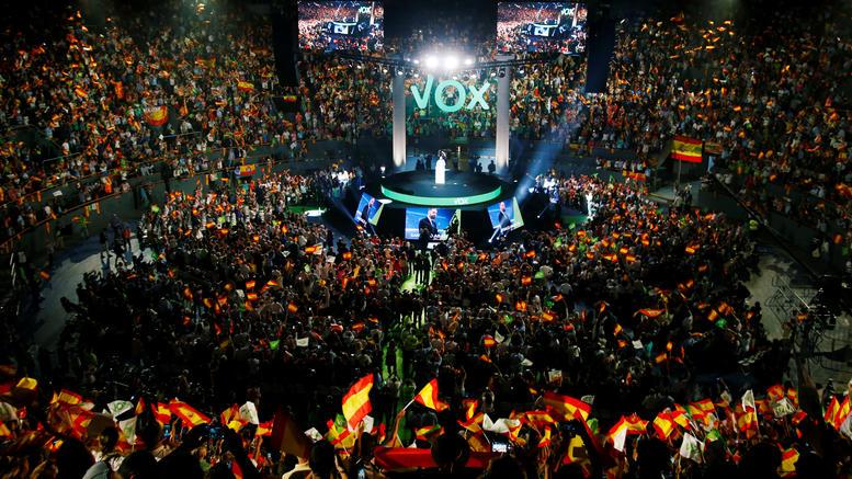 Ισπανία: Παραλήρημα μίσους στη συγκέντρωση του Vox
