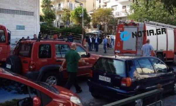 Νεκρός οδηγός που καταπλακώθηκε από φορτηγό του