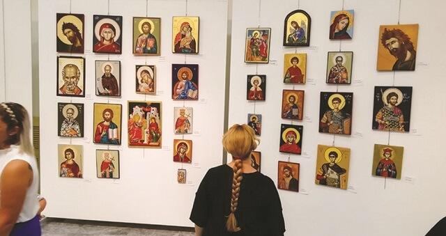 Εκθεση της σχολής αγιογραφίας «Διά χειρός»