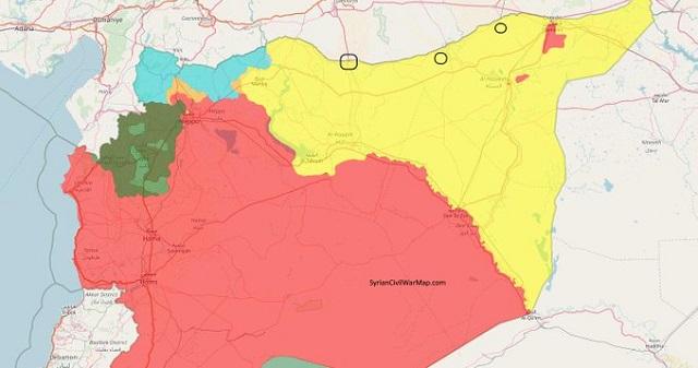 Εισβολή στη Συρία: Τα εδάφη που θέλει να πάρει ο Ερντογάν [χάρτης]