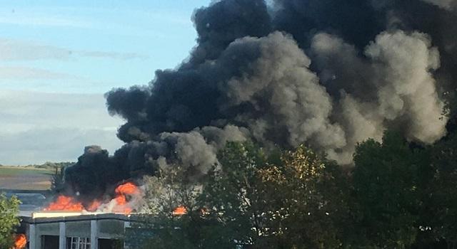 Μεγάλη έκρηξη κοντά στο αεροδρόμιο Λιντς στην Αυστρία -2 σοβαρά τραυματίες