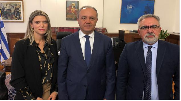 Συνάντηση της ΕΔΑ ΘΕΣΣ με τον Υφ. Εσωτερικών Μακεδονίας – Θράκης