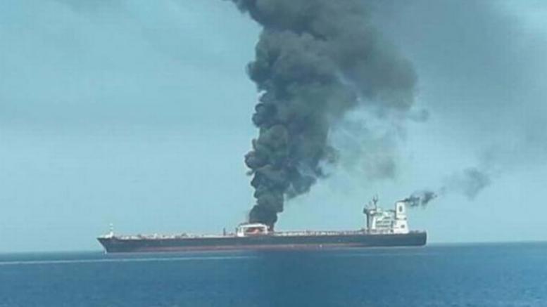 Πυρκαγιά σε ιρανικό τάνκερ - φόβοι για τρομοκρατική επίθεση