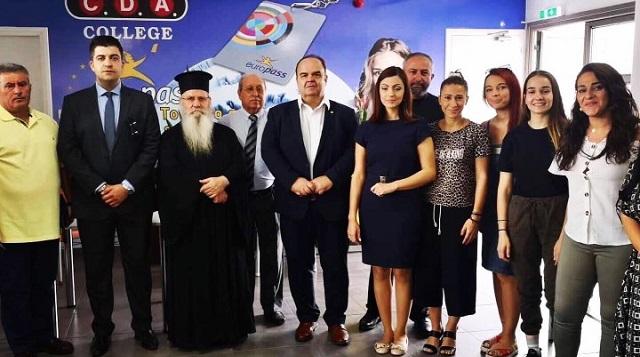 Μέλη της Ένωσης Λειτουργών Γραφείων Κηδειών Ελλάδος στο Κολέγιο CDA Πάφου